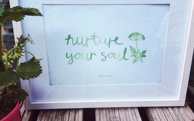 Nurture your soul – FREE printable #3