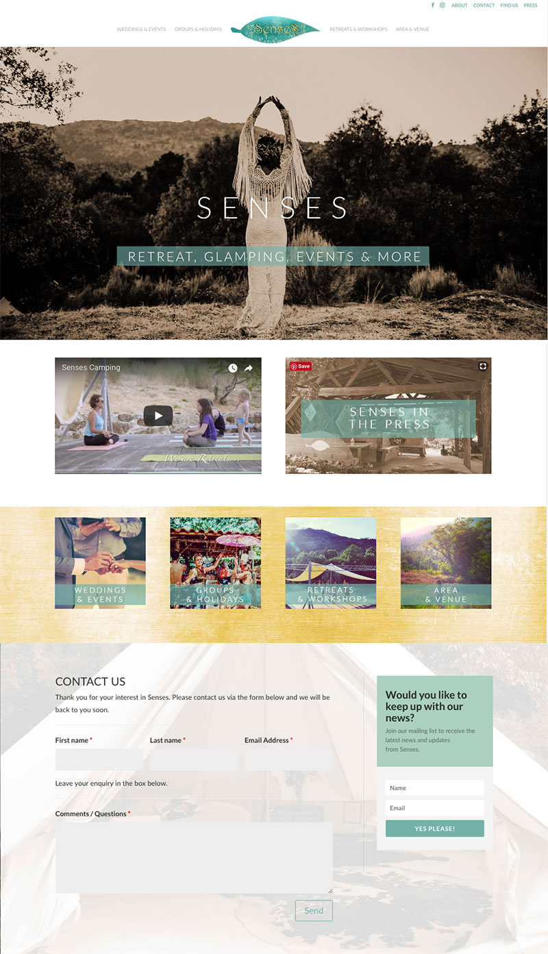 SENSES RETREAT
